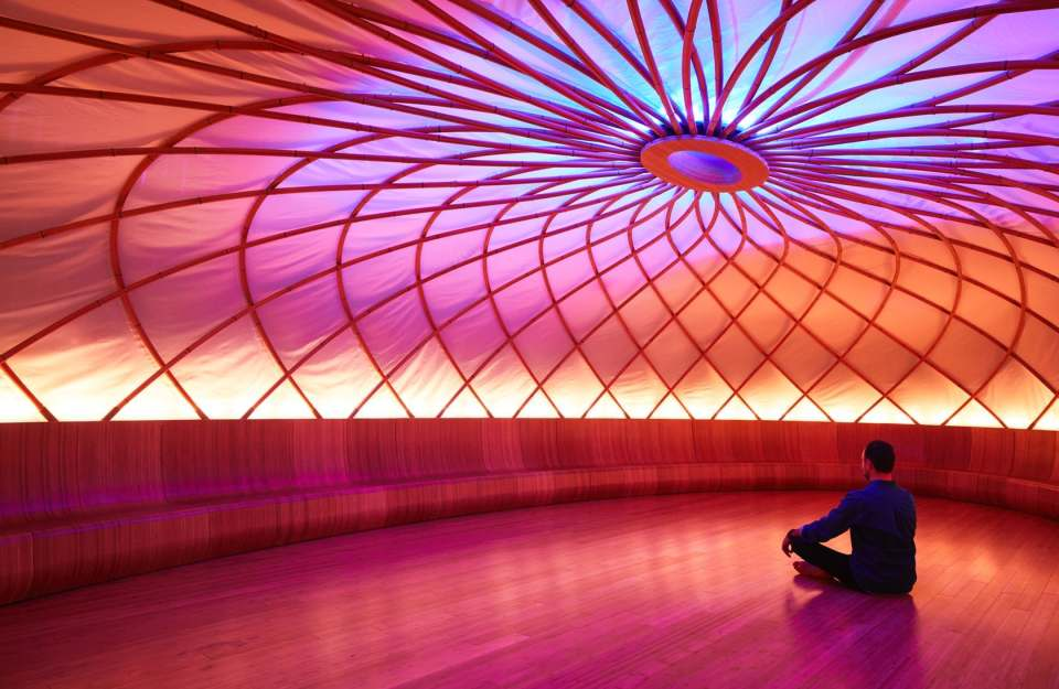 Inscape by Archi-Tectonics demonstrates wellness architecture with meditation spaces