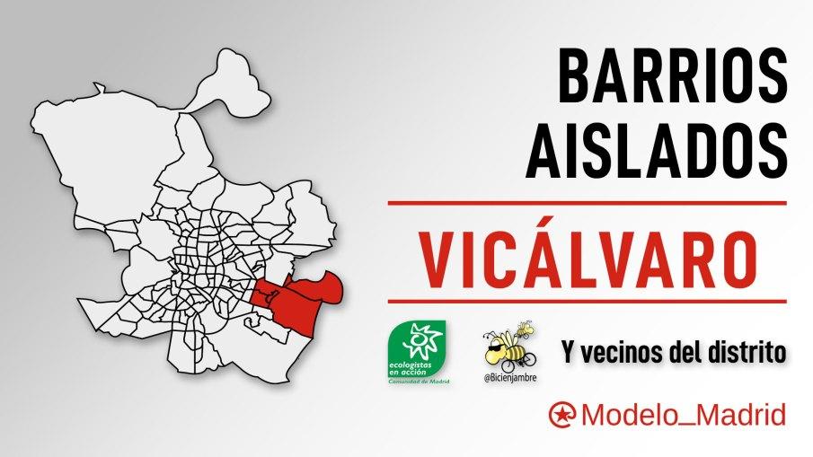 Cabecera #BarriosAislados: Vicálvaro