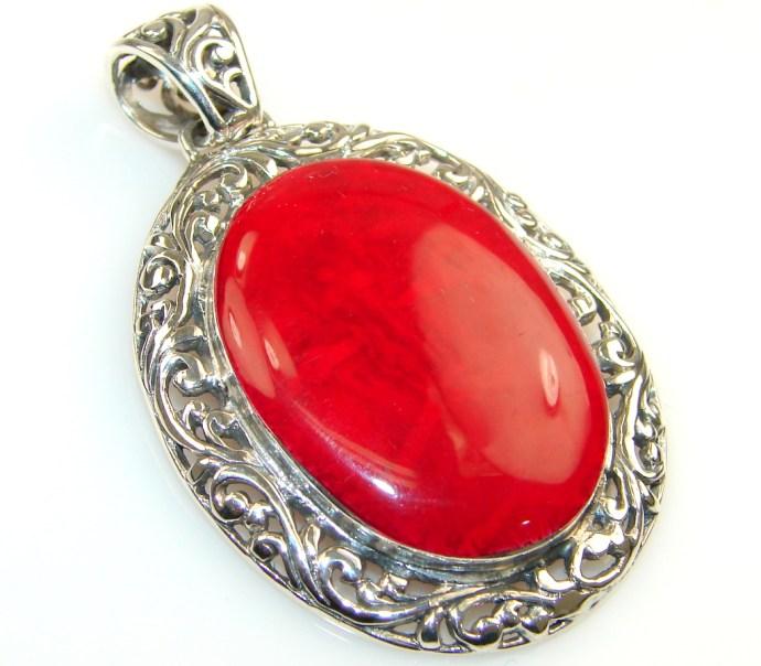 coral pendants