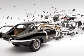 Art of the week: Disintegrating Cars by Fabian Oefner