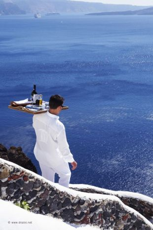 luxury travel santorini