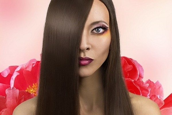 heat protectant spray, hair style