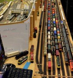 model railway staging yard banbury guildford 18 show [ 800 x 1065 Pixel ]
