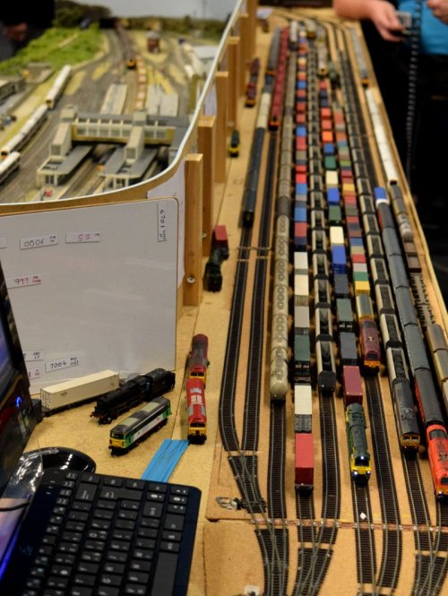 small resolution of model railway staging yard banbury guildford 18 show