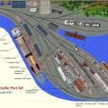 Superb model train layout model railway layouts plans