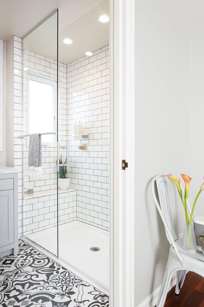 Bathroom Dormer With Spa Shower  Model Remodel