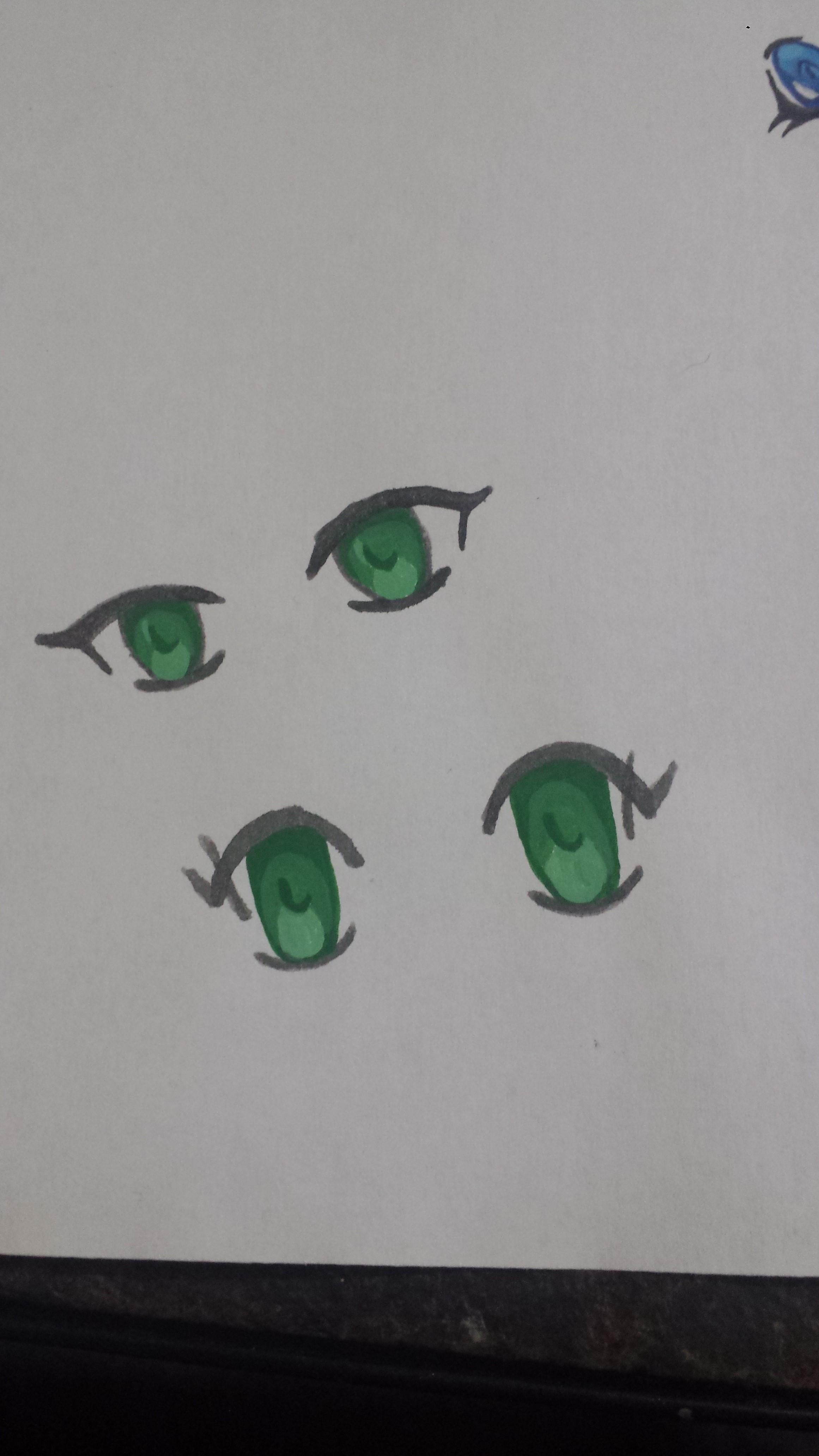 Tutorial How to Paint Chibi Eye