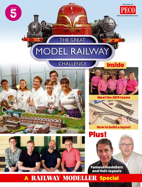 Peco GMRC1 The Great Model Railway Challenge (Companion publication)