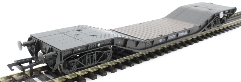 Hattons H4-WW-001A Warwell wagon 50t with diamond frame bogies MS.3 in WD livery (GWR) (OO gauge)
