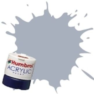 Humbrol 126 US Medium Grey Satin - Acrylic Paint 14ml