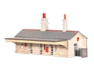 Ratio 204 Station Building (N gauge kit)