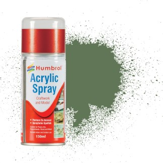 Humbrol 80 Grass Green Matt - Acrylic Spray Paint 150ml (**Collection only**)