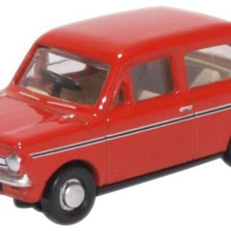 Oxford 76HI003 Hillman Imp - Firebrand Red (OO gauge)