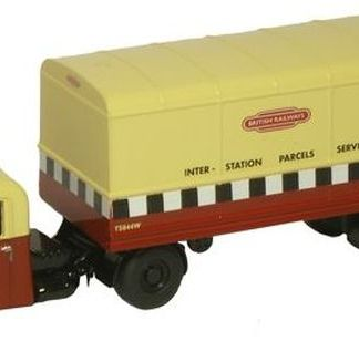 Oxford 76RAB001 Scammell Scarab - British Rail (OO gauge)