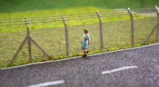 Ancorton Models N Gauge Security Fencing (Kit)
