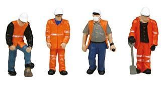 Graham Farish 379-309 Trackside Workers (6 figures N gauge)