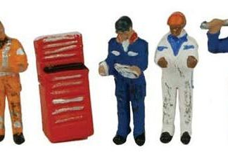 Graham Farish 379-311 Traction Maintenance Depot Workers (6 figures N gauge)
