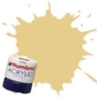 Humbrol 103 Cream Matt - Acrylic Paint 14ml