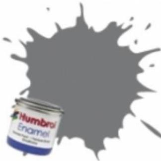 Humbrol 156 Dark Camouflage Grey Satin - Acrylic Paint 14ml