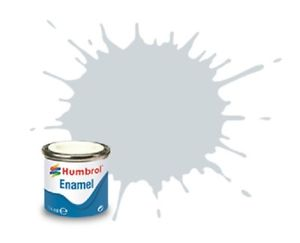 Humbrol 27001 Metalcote Aluminium Enamel Paint 14ml (**Collection Only**)