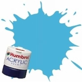 Humbrol 47 Sea Blue Gloss - Acrylic Paint 14ml
