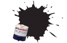 Humbrol RC401 Dirty Black - Rail Colours Acrylic Paint 14ml