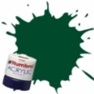 Humbrol RC405 GWR/BR Green - Rail Colours Acrylic Paint 14ml