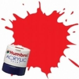 Humbrol RC406 Buffer Beam Red - Rail Colours Acrylic Paint 14ml