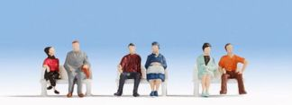 Noch 38130 Hobby Series - Seated People (6 figures N gauge)