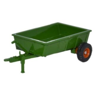 Oxford 76FARM005 Farm Trailer Green (OO scale)