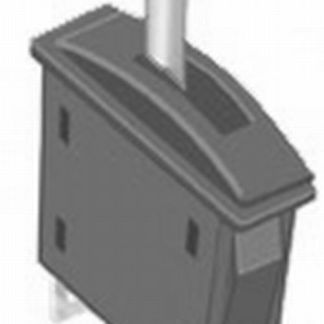 Peco PL-26W Passing Contact Switch for Point Motors - White