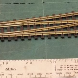 Peco SL-96  Code 100 Insulfrog Medium Radius Left Hand Point (OO gauge)