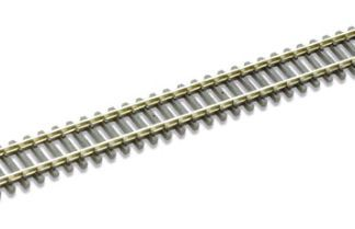 Peco ST-11 Setrack Double Straight - Box of 16 (N gauge)