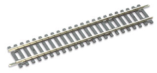 Peco ST-200 Setrack Standard Straight (Equivalent to Hornby R600) (OO gauge)