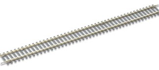 Peco ST-201 Setrack Double Straight (Equivalent to Hornby R601) (OO gauge)