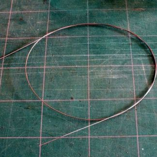 "Piano Wire - 0.020"" / 0.61mm diameter"