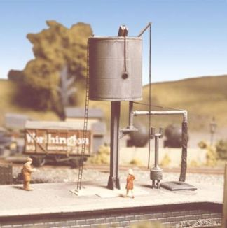 Ratio 230 GWR Round Water Tower (N gauge plastic kit)