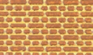 South Eastern Finecast FBS408 OO 4mm Scale English Bond Arches Brickwork Embossed Styrene Sheet
