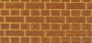 South Eastern Finecast FBS702 O 7mm Scale English Bond Brick Embossed Styrene Sheet