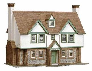 Superquick B24 Greystones Farm House (OO scale card kit)
