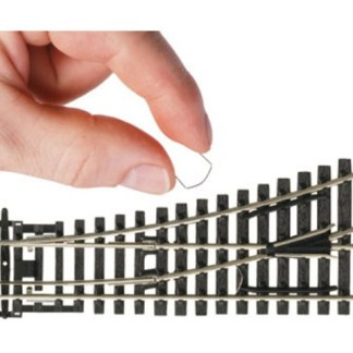 Hornby R8232 DCC Electro point clips (20 in a pack - 2 used per point) (OO gauge)