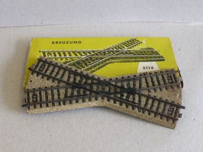 Marklin 5114 Crossing (M-track) (Secondhand HO scale)