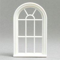 1:24 Victorian round top 10-pane window