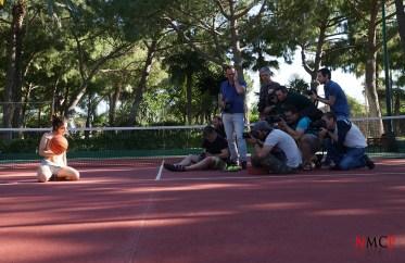 Sesión WORSHOP exterior pista de Tenis - fotógrafos participantes por Georgy Chernyadyev