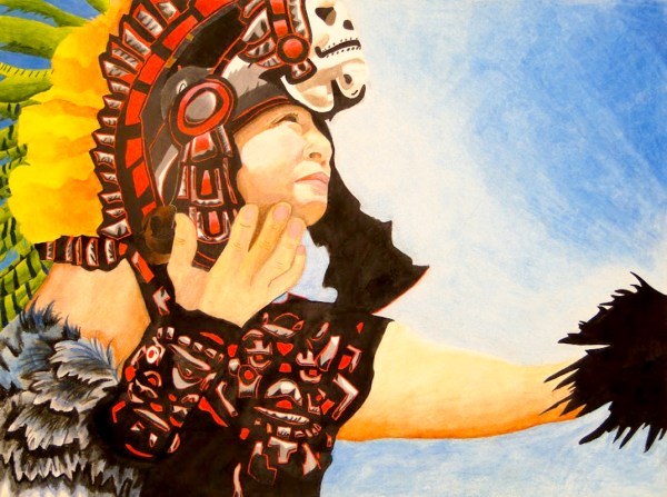 Aztec Indian Portraits Models Of Excellence