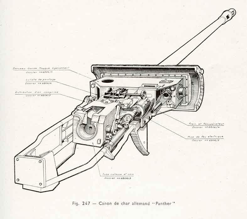 ID:0045181 27/06/16 Pz. Kpfw. V Panther: Gun mantlet