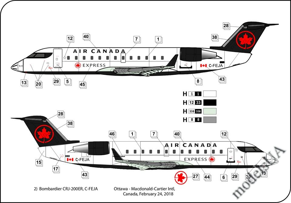 modelsUA > JETS 1:144 > Bombardier CRJ 200 1:144 Big Plane