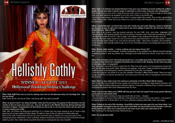 ModeLS Magazine - Issue 5 - Hellishly Gothly