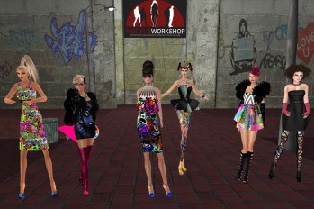 MWSC Graffiti Couture - Staff and Contestants