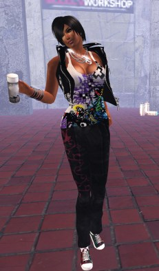 MWSC Graffiti Couture - Winter Ravenheart